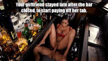bareback under the bar