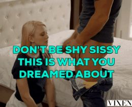 Blonde Sissy Dream Caption