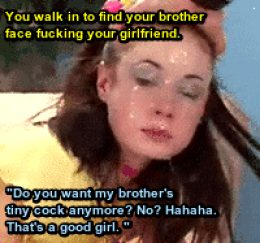 Brother cucking you with your girlfriend