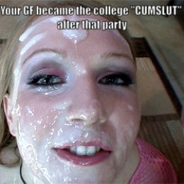 College Cumslut