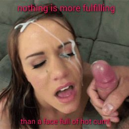 Cum shot sissy