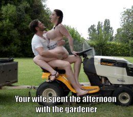 Gardener fuck