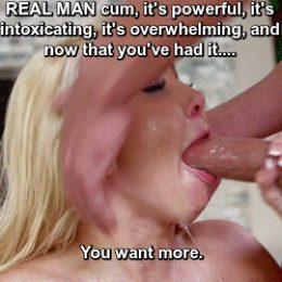 Real man CUM