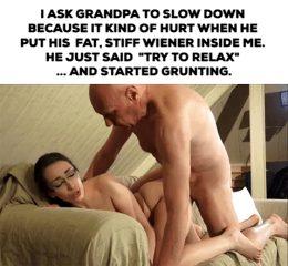 grandpa says relax