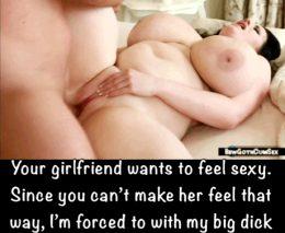 Making her feel desired