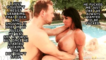 Mommy Pool Day – Holly Halston Part 3