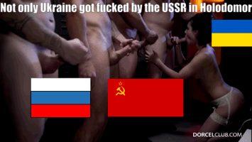 Political porn ukraine always gets fucked political caption