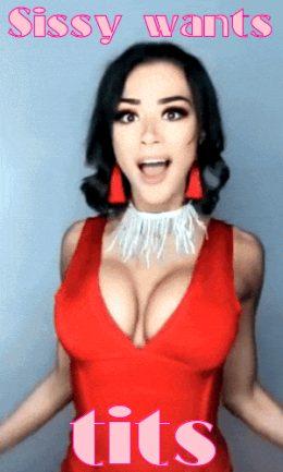 Sissy Wants Tits