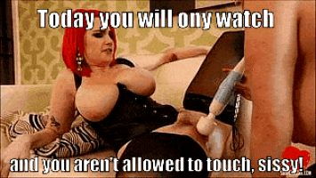 Sometimes it is hard to be a sissy.