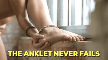 The anklet never fails